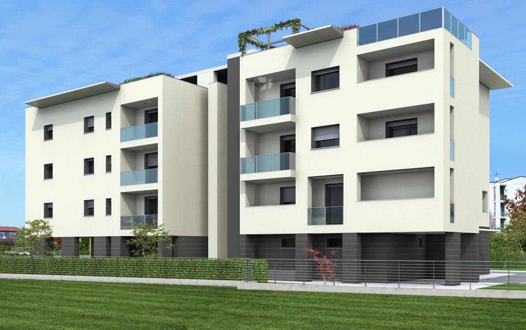 Marengo costruzioni alba for Palazzine moderne